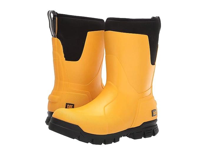 Caterpillar Casual  11 Stormers (Cat YellowithBlack) Mens Rain Boots