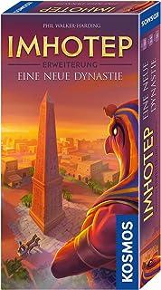 Imhotep - Erweiterung - Eine neue Dynastie: Familienspiel für 2 - 4 Spieler ab 10 Jahren