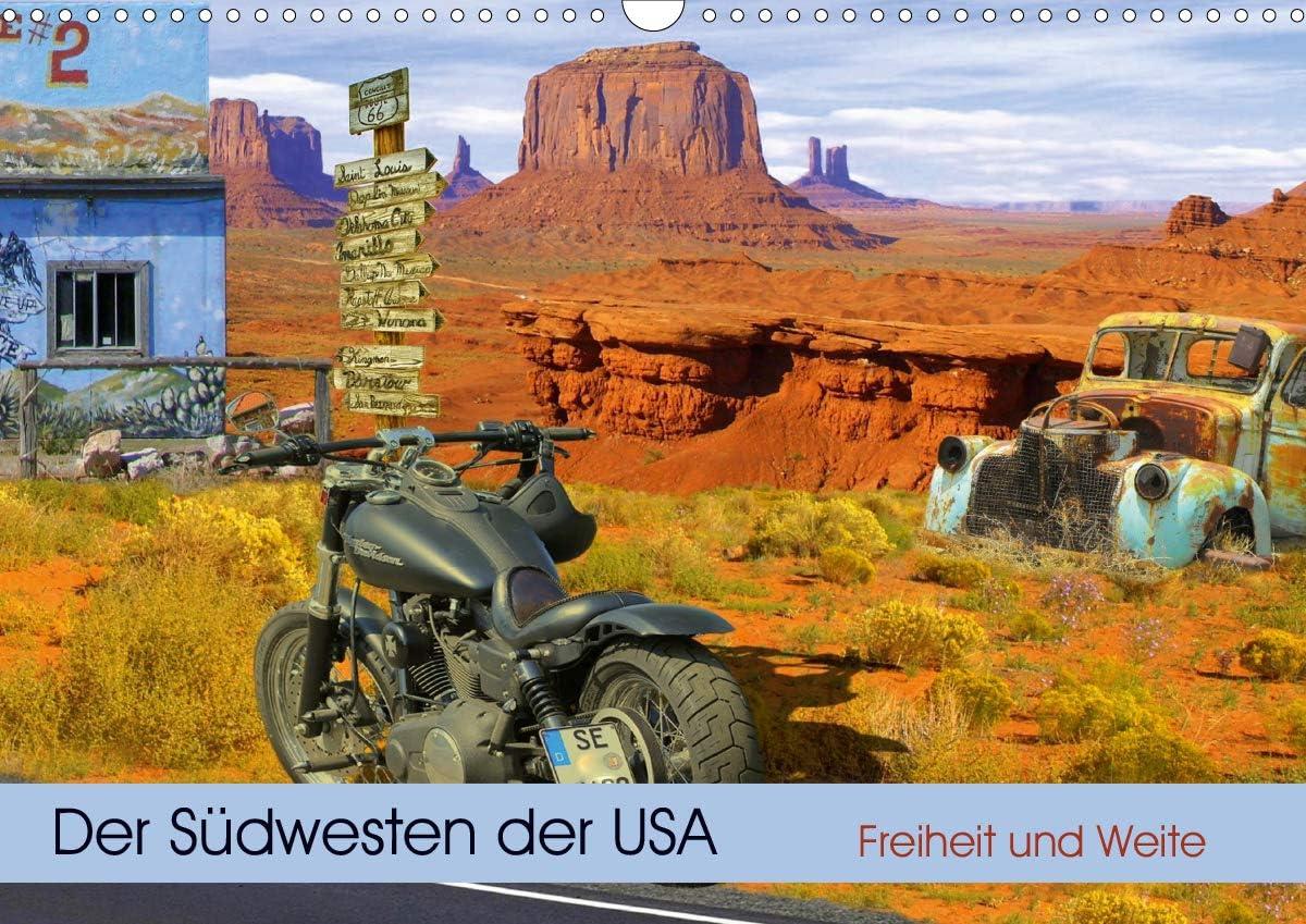 Der Südwesten 2021 spring [Alternative dealer] and summer new der USA. Freiheit Weite Wandkalender DIN und