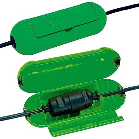 Brennenstuhl Safe Box Schutzbox Für Verlängerungskabel Schutzkapsel Für Kabel Für Die Verwendung Im Innenbereich Grün Baumarkt
