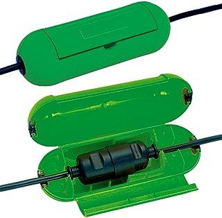 Brennenstuhl Safe-Box/beschermbox voor verlengkabel (beschermende capsule voor kabel, voor gebruik binnenshuis) groen