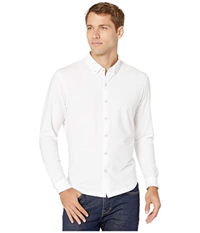 Linksoul LS208 Rambler Long-Sleeved Button Down Shirt (White) Men