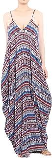 Cheryl Bull Fancy Women's Adjustable Shoulder Straps Maxi Dress