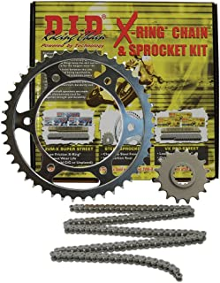 D.I.D (DKK-012) 520VX2 Steel Chain and 14 Front/45 Rear Tooth Sprocket Kit
