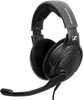 DROP Massdrop x Sennheiser PC37X - Auriculares para Juegos con cancelación de Ruido con diseño de Espalda Abierta, Cable D...