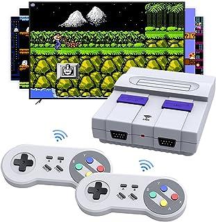 کنسول بازی بی سیم مینی یکپارچهسازی با سیستمعامل ، HDMI HD 1080 NES کلاسیک بازی های یکپارچهسازی با سیستمعامل با 2 کنترلر بی سیم SNES کلاسیک ، مینی بازی ویدئویی کنسول بازی از پیش بارگذاری شده برای بازی تلویزیونی Family Childhood Memory Game