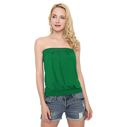 561e68c815dd1c Maggie Tang Women s Strappy Pleated Camisoles Basic Cami Top Pleated ...
