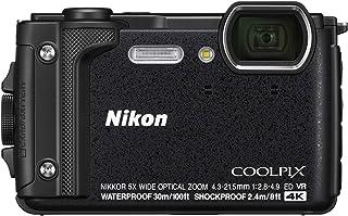 Nikon デジタルカメラ COOLPIX W300 BK クールピクス 1605万画素 ブラック 防水 耐寒 防塵