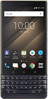 BlackBerry KEY2 LE Unlocked Dual SIM Champagne Android Smartphone (AT&T, T-Mobile, Verizon), 64GB, 13MP Rear Dual Camera, ...