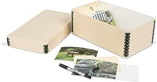 Gaylord Archival Shoebox-Style Photo Storage Kit