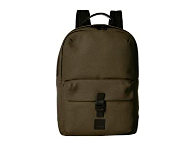 KNOMO London Fulham Christowe Backpack (Forest Green) Backpack Bags