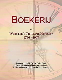 Boekerij: Webster's Timeline History, 1766 - 2007