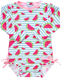 50660d48d RuffleButts Baby/Toddler Girls UPF 50+ Sun Protection.