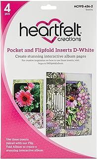 Heartfelt Creaciones Bolsillo y Flip-Fold, Color, 26.72X 20.24X 1,21cm
