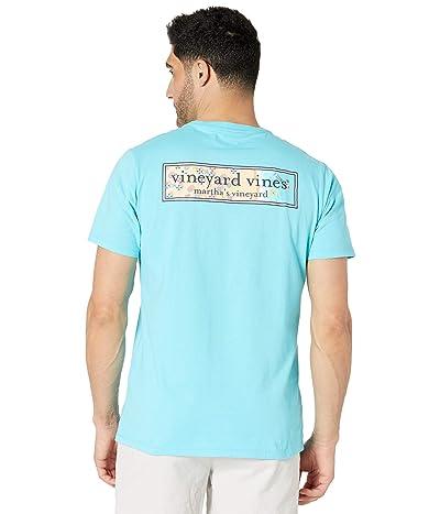 Vineyard Vines Short Sleeve Beach Logo Box Pocket T-Shirt