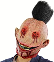 MICG Halloween Slipknot Punk Clown Scary Cosplay Horror The Evil Bloody Big Slit Mouth Demon Movie Mask Props