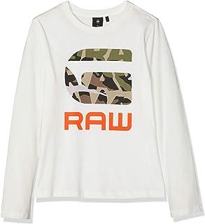 G-STAR RAW Sp10025 LS tee Camiseta de Manga Larga para Niños