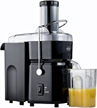Nutri-Stahl 700w Juicer Machine - 2.8 inch Wide Mouth Feed Chute - Easy to Clean Dual Speed Masticating Juice Extractor for Fruits and Vegetables
