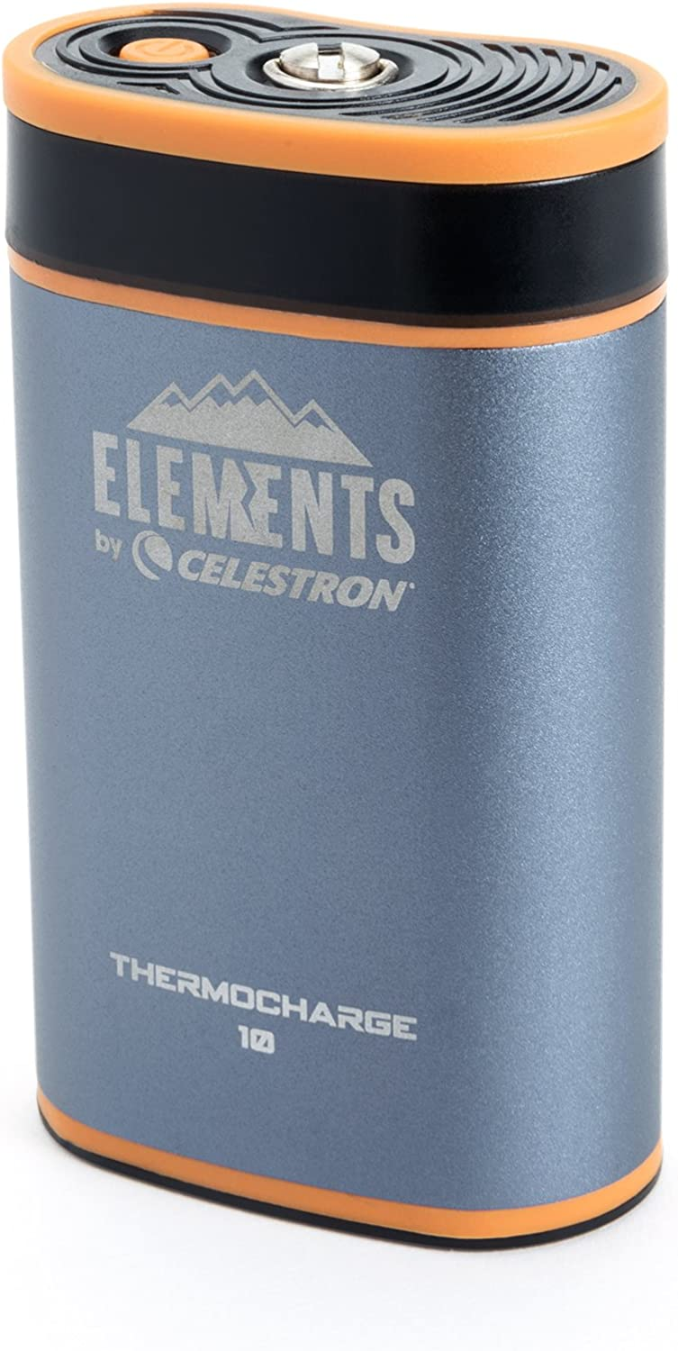 Celestron Elements 2in1 Hand Warmer and Charger, ThermoCharge 10, blueee (48024)