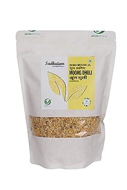 Sadhutam Zero Residual Yellow Moong Dhuli Dal/Pulses (Weight: 1 Kg)