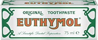 Euthymol Original Toothpaste Tube (75ml) - Pack of 2 by