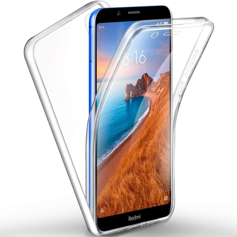AROYI Funda Xiaomi Redmi 7A, Ultra Slim Doble Cara Carcasa ...
