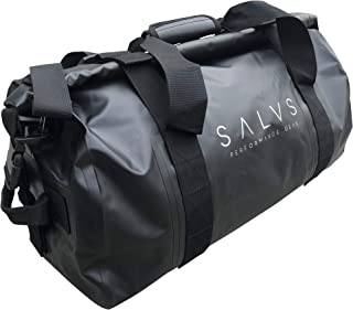 SALVS Waterproof Duffle Bag 50L- Dry Bag Keep Valuables Safe While Boating, Kayaking Sailing, Camping, Fishing - Collapsib...