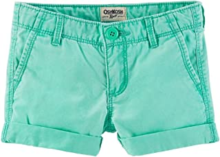 Turquiose Blue OshKosh BGosh Baby Girls Neon Sun Shorts 12 Months