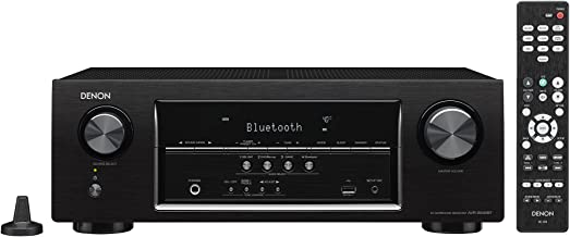Denon AVRS530BT 5.2 Channel Full 4K Ultra HD AV Receiver (Discontinued by Manufacturer)