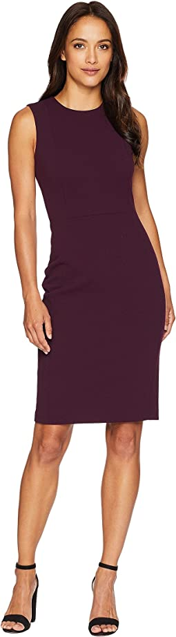 Solid Sheath Dress CD8C1A00