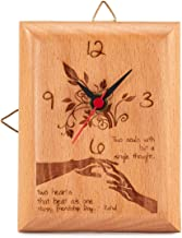 Presto Wooden Photo Clock (5 x 4 inch)