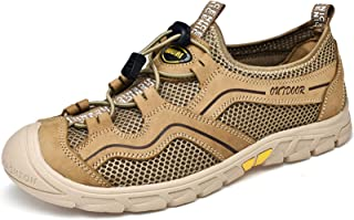 Ezkrwxn Men mesh Slip on Loafers Outdoor Athletic Sport Walking Shoes