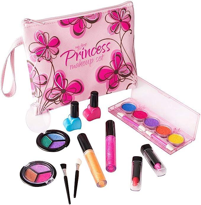 8585 opinioni per Playkidz My First Princess Set Trucco Realistico (Lavabile) con Borsa cosmetica