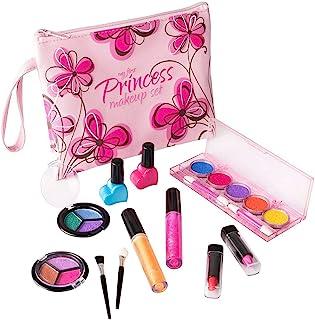 My First Princess Washable Make Up Set – 12 Pc Kids Makeup Set – Pretend..