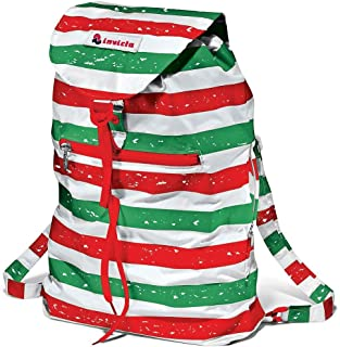 Backpack INVICTA - IMINISAC ITALY - packable multicolor Vintage Italian design waist bag new