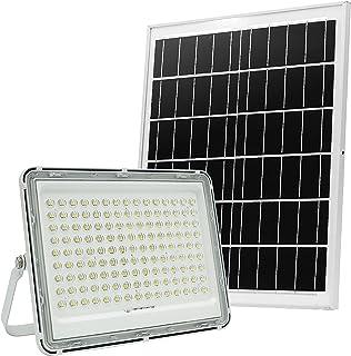 200 W LED-solgolvlampa, 144 LED-lamppärlor, utomhus gatuljus IP66 vattentät, radiation område 2150 ft², lämplig för courty...