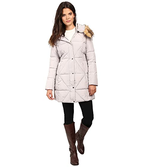 Jessica Simpson Cinched Waist Puffer W Hood And Removable