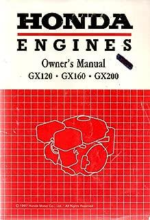 Honda Engines Owner's Manual GX120 GX160 GX200