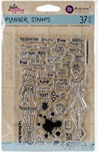 Prima Marketing Julie Nutting Planner Clear Stamps -Craft Day