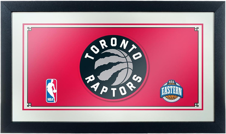 NBA Tgoldnto Raptors Framed Logo Mirror
