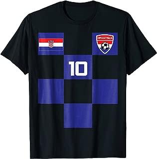 Croatia Jersey Shirt Soccer Black Blue Men Women Kids