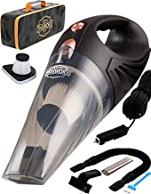 THISWORX Car Vacuum Cleaner - Portable, High Power, Handheld Vacuums w/ 3 Attachments, 16 Ft Cord & Bag - 12v, Auto Access...