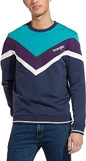 Wrangler Mens Crew Neck Sweatshirt -Navy