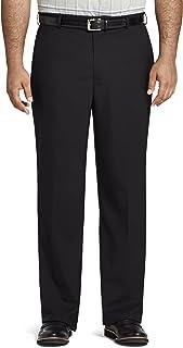 Van Heusen Men's Big and Tall Air Straight Fit Flat Front Dress Pant