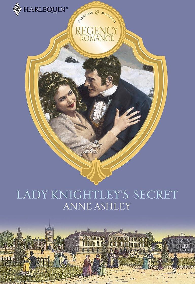トライアスリートフォーク徴収LADY KNIGHTLEY'S SECRET (Reader's Choice) (English Edition)