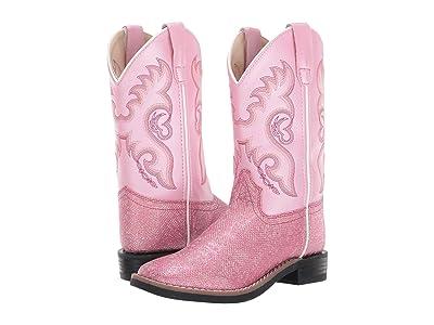 Old West Kids Boots Ella (Toddler/Little Kid) (Pink) Cowboy Boots