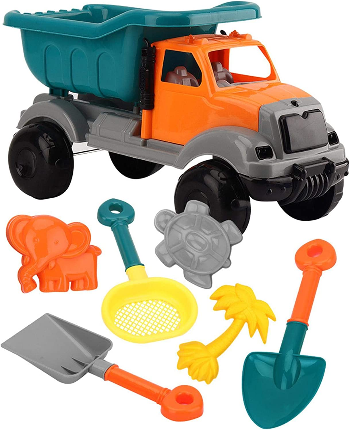 8PCS Super popular specialty store Beach Toys Children's Sand with Max 42% OFF Fun Bugg Truck