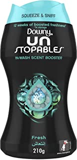 Downy Unstopables In-wash Freshness And Scent Booster Beads, Fresh Scent, 210 gm, Special Offer