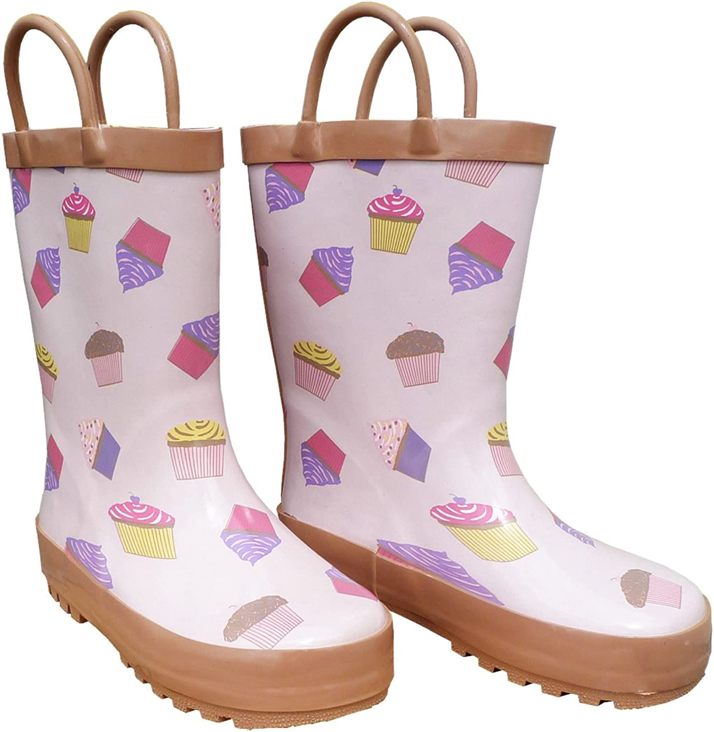 Foxfire for Kids Light Pink with 10 Boots size Cupcakes Rubber New Orleans San Diego Mall Mall
