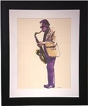 Art Master Cool Jazz Modern Frame Canvas Artwork, 16 by 20-Inch